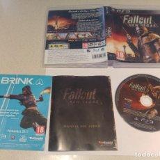 Videojuegos y Consolas: FALLOUT NEW VEGAS PS3 PLAYSTATION 3 PAL-ESPAÑA. Lote 246220695