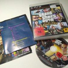 Videojogos e Consolas: GRAND THEFT AUTO LIBERTY CITY ( PLAYSTATION 3 - PS3 - PAL - ALE) CON ESPAÑOL!. Lote 247270180