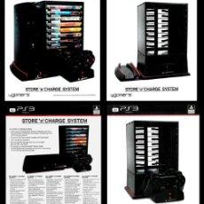 Videojuegos y Consolas: PLAYSTATION 3. PS3. STORE 'N' CHARGE SYSTEM. EN SU CAJA. PRODUCTO OFICIAL ORIGINAL LICENCIADO.. Lote 247606980