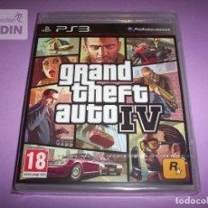 Videojuegos y Consolas: GRAND THEFT AUTO 4 NUEVO Y PRECINTADO PAL ESPAÑA PLAYSTATION 3. Lote 251027200