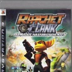 Videojuegos y Consolas: RATCHET & CLANK ARMADOS HASTA LOS DIENTES PS3. Lote 253511420