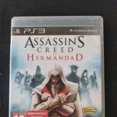 Videojuegos y Consolas: ASSASSIN'S CREED LA HERMANDAD - SONY PLAYSTATION 3 - PS3. Lote 253643875