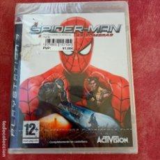 Videojuegos y Consolas: SPIDER-MAN EL REINO DE LAS SOMBRAS PS3 SELLADO NUEVO A ESTRENAR MUY DIFÍCIL PLAYSTATION 3 SPIDERMAN. Lote 253799695