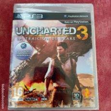 Videojuegos y Consolas: UNCHARTED 3 PS3 NUEVO SELLADO LA TRAICIÓN DE DRAKE PLAYSTATION SONY. Lote 253802430