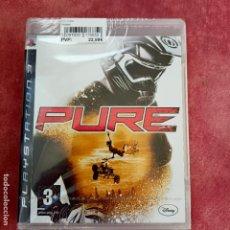 Videojuegos y Consolas: PURE PS3 NUEVO SELLADO PRECINTADO PAL ESPAÑA PLAYSTATION 3. Lote 253803390