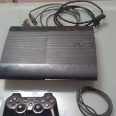 Videojuegos y Consolas: PS3 PLAY STATION 3 CON MANDO ORIGINAL Y CABLES. FUNCIONANDO PERFECTAMENTE. Lote 254083735