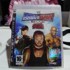 Videojuegos y Consolas: JUEGO DE SONY PLAYSTATION 3 PS3 - SMACK DOWN VS RAW 2008. Lote 254566530