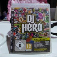 Videojuegos y Consolas: JUEGO DE SONY PLAYSTATION 3 PS3 - DJ HERO START THE PARTY. Lote 254569965