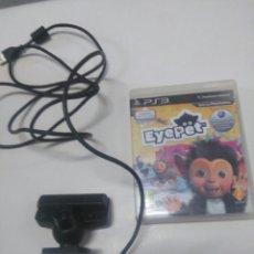 Videojuegos y Consolas: CAMARA Y VIDEO JUEGO PS3. Lote 254611125