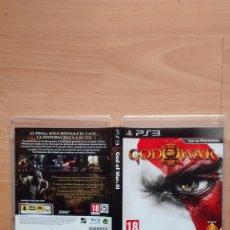 Videojuegos y Consolas: GOD OF WAR III 3 PS3 CON MANUAL Y DISCO COMO UN ESPEJO - POSIBILIDAD DE ENTREGA EN MANO EN MADRID. Lote 255330520