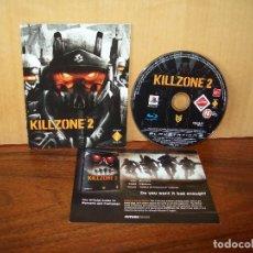 Videojuegos y Consolas: KILLZONE 2 - SOLO JUEGO CONSOLA PLAYSTATION 3 CON MANUAL DE INSTRUCCIONES , SIN CAJA, NI C. Lote 255953895