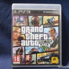 Videojuegos y Consolas: PS3 - GRAND THEFT AUTO FIVE V / PAL ESPAÑA / FALTA EL MANUAL / PLAYSTATION 3. Lote 256147295