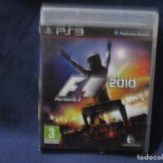 Videojuegos y Consolas: PS3 - FORMULA 1 2010 F1 / PAL ESPAÑA / PLAYSTATION 3 / DE VIDEOCLUB. Lote 256148460