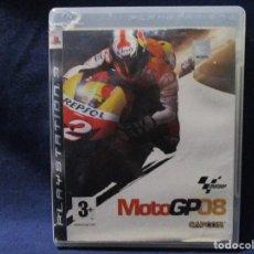 Videojuegos y Consolas: PS3 - MOTO GP 08 - MOTOGP 08 - MOTOGP08 / PAL ESPAÑA / PLAYSTATION 3 / DE VIDEOCLUB ¿ROTO?. Lote 256149355