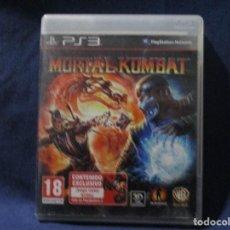 Videojuegos y Consolas: PS3 - MORTAL KOMBAT / PAL ESPAÑA / PLAYSTATION 3 / DE VIDEOCLUB ¿ROTO?. Lote 256152165