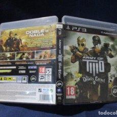 Videojuegos y Consolas: PS3 - CARÁTULA / ARMY OF TWO THE DEVIL'S CARTEL / PAL / PLAYSTATION 3 DE VIDEOCLUB. Lote 256154580