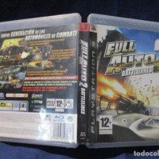 Videojuegos y Consolas: PS3 - CARÁTULA / FULL AUTO 2 BATTLELINES - FULLAUTO - FULLAUTO2 / PAL / PLAYSTATION 3 DE VIDEOCLUB. Lote 256156960