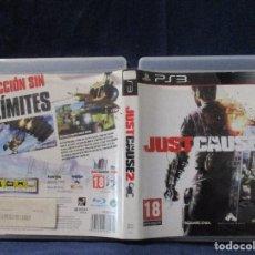 Videojuegos y Consolas: PS3 - CARÁTULA / JUST CAUSE 2 - JUSTCAUSE 2 - JUSTCAUSE2 / PAL / PLAYSTATION 3 DE VIDEOCLUB. Lote 256158065