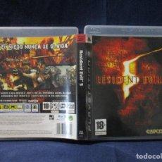 Videojuegos y Consolas: PS3 - CARÁTULA / RESIDENT EVIL 5 / PAL / PLAYSTATION 3 DE VIDEOCLUB. Lote 256158980