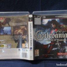 Videojuegos y Consolas: PS3 - CARÁTULA / CASTLEVANIA LORDS OF SHADOW / PAL / PLAYSTATION 3 DE VIDEOCLUB. Lote 256159445