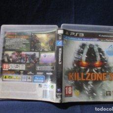 Videojuegos y Consolas: PS3 - CARÁTULA / KILLZONE 3 / PAL / PLAYSTATION 3 DE VIDEOCLUB. Lote 256160080