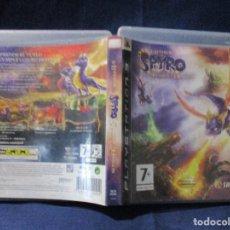Videojuegos y Consolas: PS3 - CARÁTULA / LA LEYENDA DE SPYRO LA FUERZA DEL DRAGÓN / PAL / PLAYSTATION 3 DE VIDEOCLUB. Lote 256160980