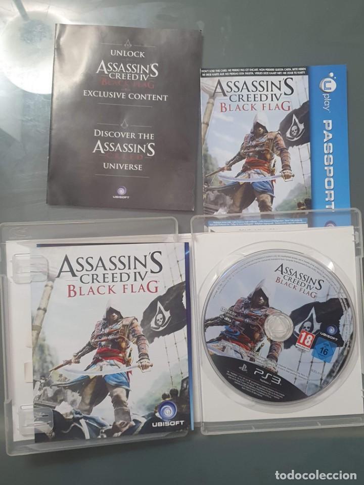 Videojuegos y Consolas: ASSASSINS CREED IV . BLACK FLAG . PS3 PLAY STATION 3 CON MANUAL . BUEN ESTADO - Foto 3 - 257240775