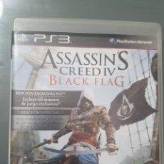Videojuegos y Consolas: ASSASSINS CREED IV . BLACK FLAG . PS3 PLAY STATION 3 CON MANUAL . BUEN ESTADO. Lote 257240775