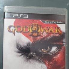 Videojuegos y Consolas: GOD OF WAR III PS3 PLAY STATION 3 CON MANUAL . BUEN ESTADO. Lote 257250475