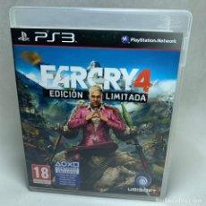 Videojuegos y Consolas: VIDEOJUEGO PLAYSTATION 3 - PS3 - FARCRY 4 - EDICIÓN LIMITADA + CAJA + INSTRUCCIONES. Lote 257299345