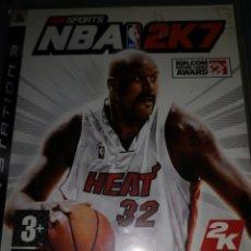 Videojuegos y Consolas: T1. J55. JUEGO PLAYSTATION 3. NBA 2K7. Lote 202944342