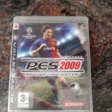 Videojuegos y Consolas: JUEGO PES2009 PLAY STATION 3. Lote 260354295