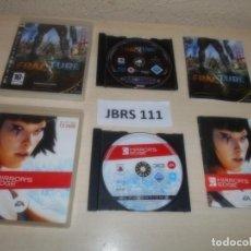Videojuegos y Consolas: PS3 - FRACTURE + MIRROR,S EDGE. Lote 261285515
