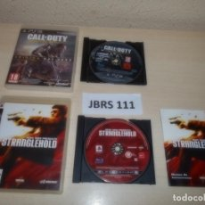 Videojuegos y Consolas: PS3 - CALL OF DUTY ADVANCED WARFARE + STRANGLEHOLD. Lote 261285660