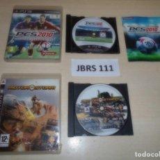 Videojuegos y Consolas: PS3 - PESS 2010 + MOTORSTROM. Lote 261288830