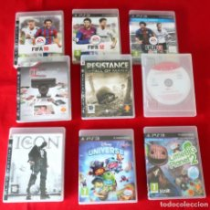 Videojuegos y Consolas: JUEGOS PLAYSTATIONS 3. Lote 261907285