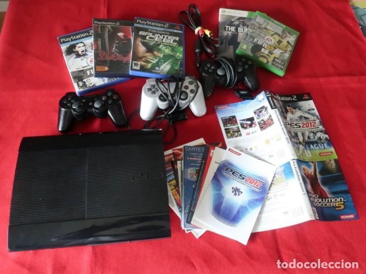 PLAYSTATION 3, MANDOS PS3 PS2 CARATULAS, INSTRUCCIONES... (LEER) PARA ARREGLAR O PIEZAS (Juguetes - Videojuegos y Consolas - Sony - PS3)