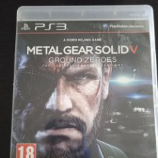 Videojuegos y Consolas: METAL GEAR SOLID V GROUND ZEROES 5 PS3 PLAYSTATION 3 PLAY STATION SONY. Lote 263000360