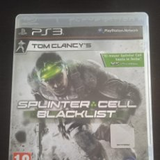 Videojuegos y Consolas: TOM CLANCY'S SPLINTER CELL BLACKLIST PLAYSTATION 3. Lote 263020370