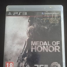 Videojuegos y Consolas: MEDAL OF HONOR PLAYSTATION 3. Lote 263022240