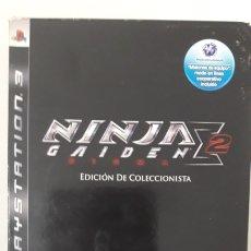 Videojuegos y Consolas: NINJA SIGMA GAIDEN 2 EDICIÓN COLECCIONISTA PS3 PAL ESP ( COMO NUEVO). Lote 263045620