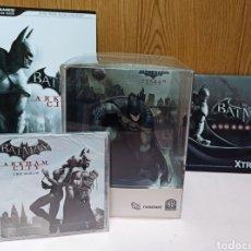 Videojuegos y Consolas: BATMAN ARKHAM CITY. ED. COLECCIONISTA. + EXTRAS. Lote 263175440