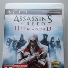 Videojuegos y Consolas: ASSASSINS CREED HERMANDAD JUEGO PS3 PLAYSTATION 3. Lote 263176860