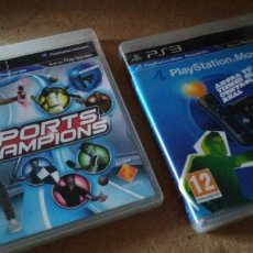 Videojuegos y Consolas: PS3 - SPORTS CHAMPIONS + DISCO DE DEMOS DE MOVE. Lote 263186680