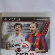 Videojuegos y Consolas: JUEGO FIFA 11 / 2011 SOCCER DE EA SPORTS / PARA SONY PLAY STATION 3 / PS3. Lote 263243190