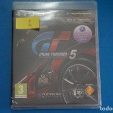 Videojuegos y Consolas: VIDEOJUEGO DE PLAYSTATION 3 PS3 GRAN TURISMO 5 AÑO 2010 Nº 1. Lote 263688070
