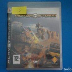 Videojuegos y Consolas: VIDEOJUEGO DE PLAYSTATION 3 PS3 MOTOR STORM AÑO 2007 Nº 2. Lote 263688580