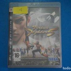Videojuegos y Consolas: VIDEOJUEGO DE PLAYSTATION 3 PS3 VIRTUA FIGHTER 5 AÑO 2007 Nº 4. Lote 263689215
