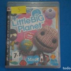 Videojuegos y Consolas: VIDEOJUEGO DE PLAYSTATION 3 PS3 LITTLE BIG PLANET AÑO 2008 Nº 5. Lote 263689420