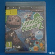 Videojuegos y Consolas: VIDEOJUEGO DE PLAYSTATION 3 PS3 LITTLE BIG PLANET 2 AÑO 2010 Nº 14. Lote 263692435